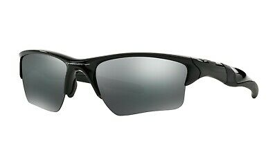 Bnwt Genuine Oakley Half Jacket 2.0 Xl Oo9154 Black Iridium Sunglasses