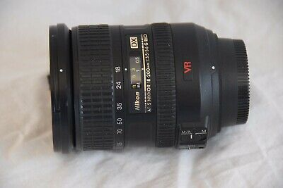 Nikon Dx Af-S Nikkor 18-200Mm 1:3.5-5.6G Ed Vr Lens With Front/Rear Caps/Hood