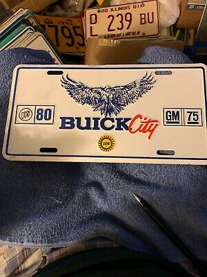 Buick Best in Class Metal License Plate
