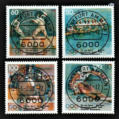 OLD STAMPS GERMANY 1992 cv£17.35 OLYMPIC GAMES USED UNH OLYMPICS