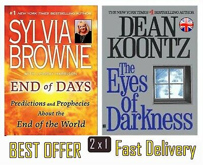 End of Days By Sylvia Browne +The Eyes of Darknes Koontz Dean R ✅ Englsh version
