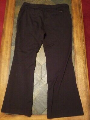 New York & Co. Black Stretch Pants - Size Large/Petite