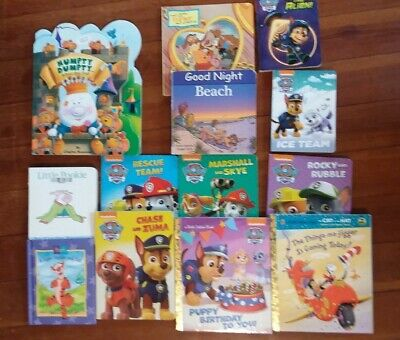 Lot of 13 Board Books for Young Children Toddlers Paw Patrol EUC