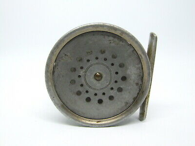 """Hardy Perfect 3 1/8"""" Fly Reel 1918 ca"""