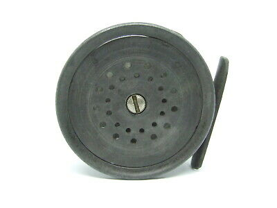 """Hardy Perfect 3 1/8"""" Calliper Spring Fly Reel 1908 ca"""