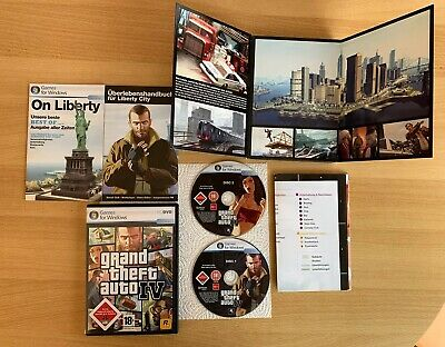GTA 4 Grand Theft Auto IV PC 2008 - European Version