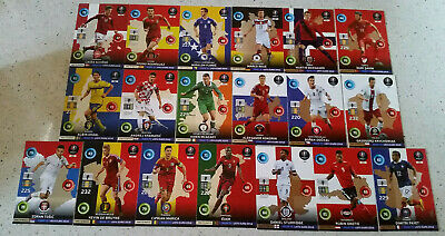 One To Watch Ensemble complet Road To Uefa Euro France 2016 Panini Adrenalyn Xl