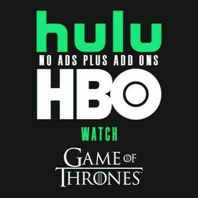 Hulu Premium + HBO + No Ads | 1 Year Live All Access Subscription
