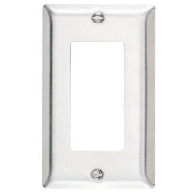 Legrand Pass and Seymour 1-Gang Decora Wall Plate - Stainless Steel SL26-CC20