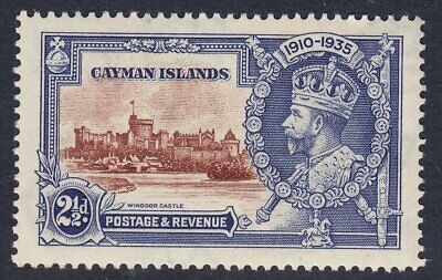 CAYMAN ISLANDS 1935 SG109 21/2d SILVER JUBILEE MNH