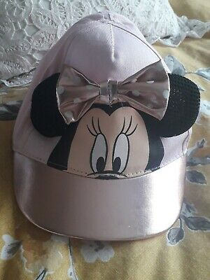 Mini mouse 3d character Kids Summer Sun Baseball Cap new pink and gold