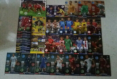 Mix 31 Cartes Special Road To Uefa & Euro France 2016 Panini Adrenalyn Xl