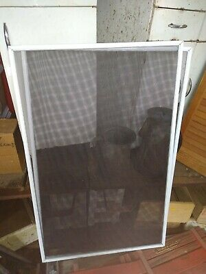 "3 replacement Metal Frame Screen Window/ Storm door 40 7/8"" x 26  "" x 0.300"""