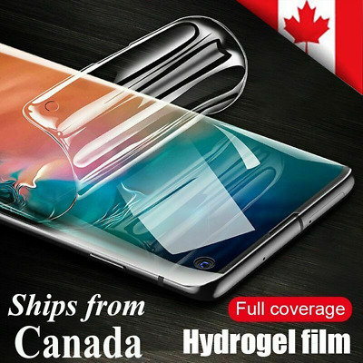 For Samsung Galaxy S20 Plus Ultra S20+ Full Coverage Hydrogel Screen Protector