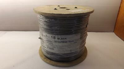 5000 FT of 18 AWG Black MTW/TEW Electrical Cable