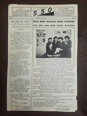 Rare news paper 1944s special for officers