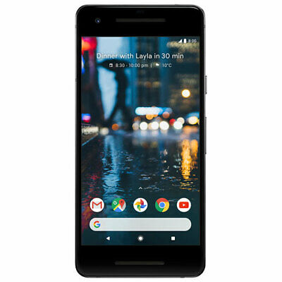 Google Pixel 2 64GB 'Black' UNLOCKED 'LCD BURN' With 3 Months warranty