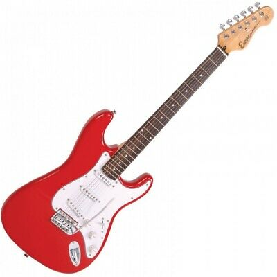 Encore E6 Beginner Full Size Electric Guitar - Red