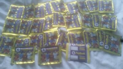 30 Packets of Premier League Panini Stickers 2020 Football EPL