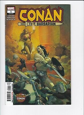 CONAN the BARBARIAN #1 1:10 John Cassaday variant 1st print MARVEL 2018 AARON NM