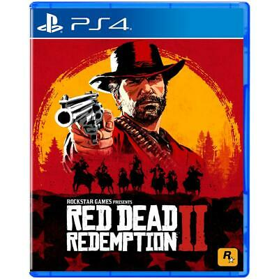 Ps4 Red Dead Redemption 2 EU gioco Playstation 4 Nuovo