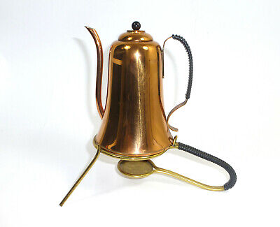 Unusual Jug with Reheat Copper 1950er Years