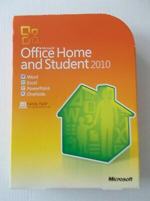 - Microsoft Office Home & Student [2010] Software With Key
