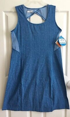 Columbia Sportswear Dress Womens Blue Size Large With Stretch
