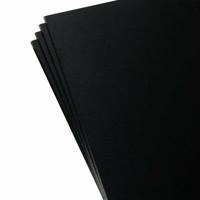 "KYDEX Sheet - 0.080"" Thick, Black, 12"" x 12"", 4 Pack"