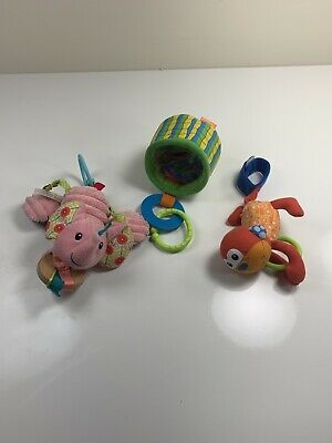 Babies R Us Infantino Baby Infant Developmental Deluxe Sensory Toy LOT