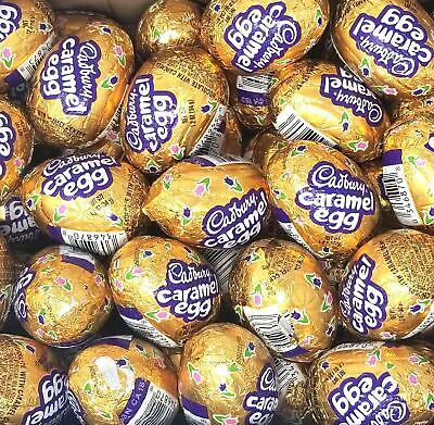 Cadbury Caramel Milk Chcolate Eggs Easter Candy, Filled with Caramel, 42 Count