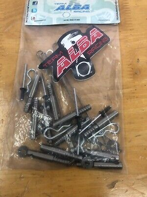 Can Am Maverick X3 Clutch Cover Pin Kit  Easy Belt  Quick Release  Alba Racing