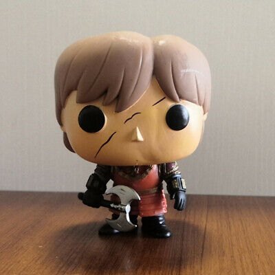 FUNKO POP GAME OF THRONES TYRION LANNISTER SCAR #21 In Battle Armor OOB