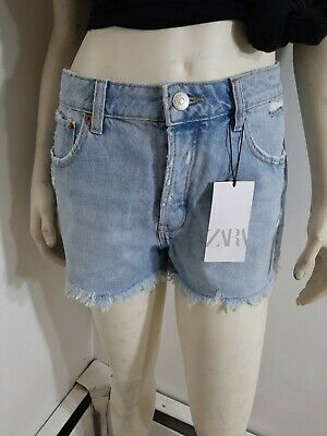 Zara Jean High Waisted Shorts Sz 8 NWT...in Excellent condition...no holes,spots