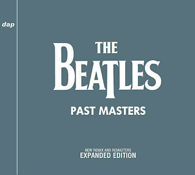 THE BEATLES  PAST MASTERS  NEW REMIX AND REMASTERS  EXPANDED EDITION Press 2xCD