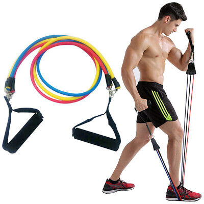 Yoga Resistance Bands Workout Exercise Crossfit Fitness Training Tubes