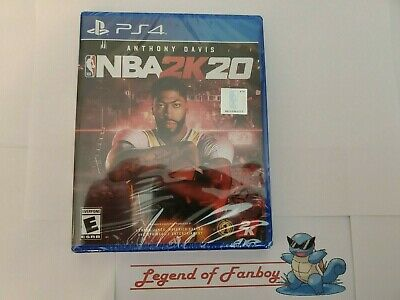 NBA 2K20 - ps4 Sony PlayStation 4 * New Sealed Basketball Game *