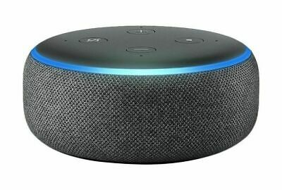 Amazon Echo Dot 3rd Generation Smart speaker With Alexa Charcoal Black NEW