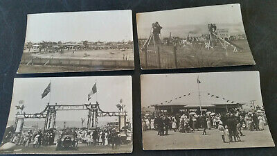 4 x vintage postcards from port pirie 1900s