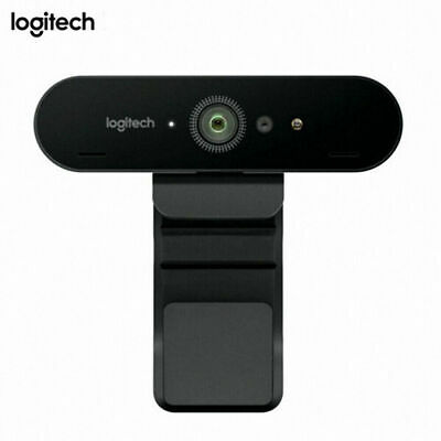 For Logitech BRIO Ultra HD Webcam for Video Conferencing Recording and Streaming