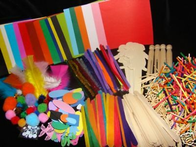 CRAFT PACK FOR KIDS (Over 500 pcs) CLEARANCE