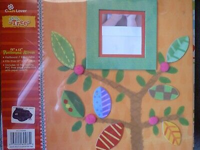 """Album For Scrapbooking - 12"""" X 12"""" - Postbound/Expandable - Kids Tree"""