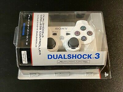 Dualshock 3  Wireless Controller Ceramic White NEW PS3 Japan Import CHCHZC2J CW