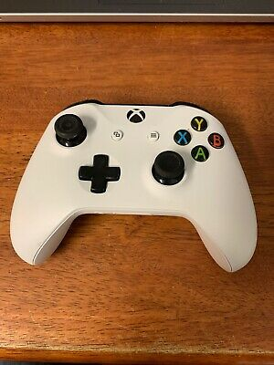Microsoft Xbox One S Wireless Controller White Model 1708
