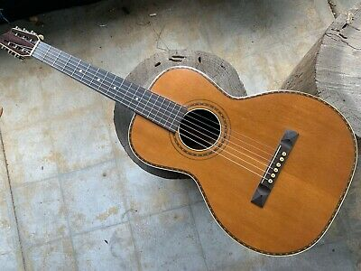 Vintage Stromberg-Voisinet Rosewood Parlor Guitar, Rare and Beautiful