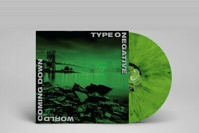 Type O Negative - World Coming Down LTD Green and Black Colored Vinyl Goth Metal