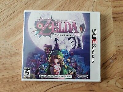 The Legend of Zelda: Majora's Mask 3D (Nintendo 3DS, 2015). Brand New. Original