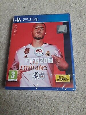 playstation 4 Ps4 Fifa 20 Brand New Sealed