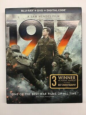 1917 Blu-ray + DVD + Digital HD & Slipcover