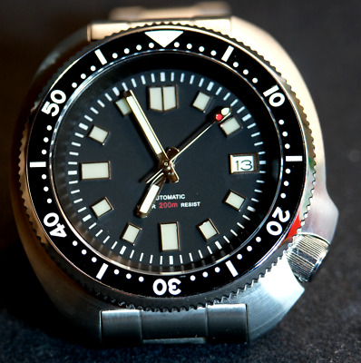 Steeldive Divers 316L sapphire glass  Seiko 6105 Homage watch UK Stock NH35A